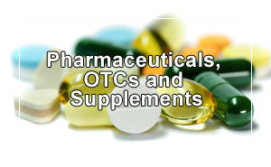 Pharmaceuticals, OTCs And Supplements